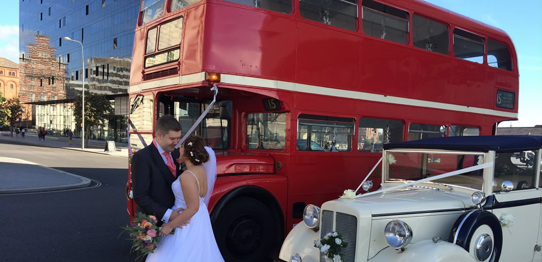 Wedding Coach hire Liverpool